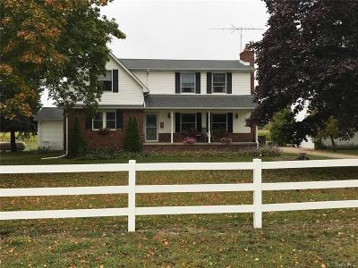 Armada Single Family Home For Sale: 80241 Coon Creek Rd
