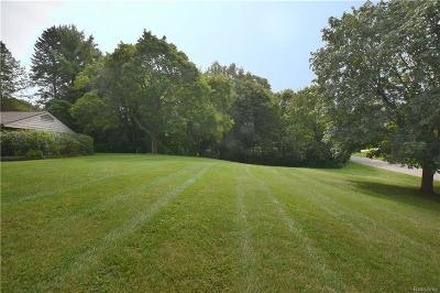 Bloomfield Hills Residential Lots & Land Pending: 4800 N Harsdale Rd