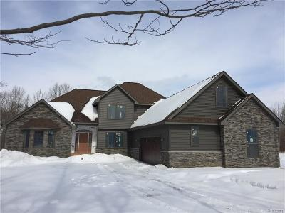 Lapeer Single Family Home For Sale: Abby Court St