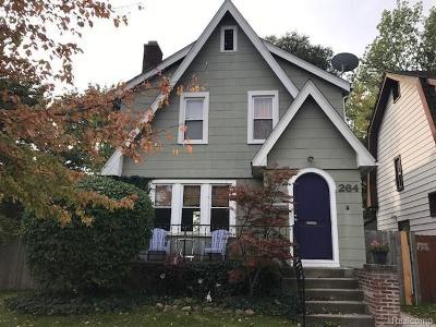 Ferndale Single Family Home For Sale: 264 E Chesterfield St