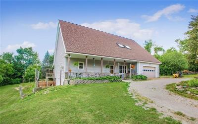 Plymouth Single Family Home For Sale: 5884 S Weed Rd