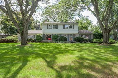 Franklin Single Family Home For Sale: 24643 S Cromwell Dr