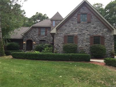 Lapeer Single Family Home For Sale: 4416 Medford Hill Dr