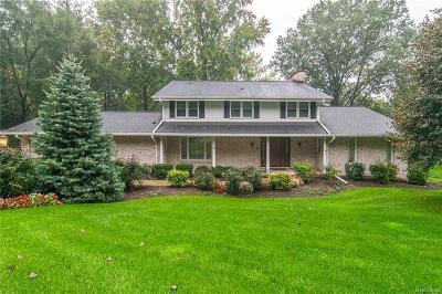 Farmington Hills Single Family Home For Sale: 35533 Valley Crk