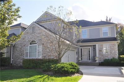 Rochester Hills Condo/Townhouse For Sale: 2441 Winding Brook Crt