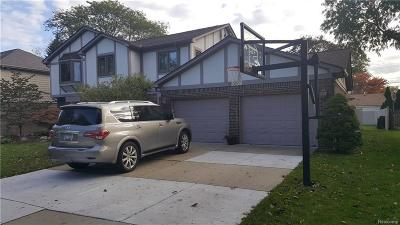 Dearborn Heights Single Family Home For Sale: 1800 N Evangeline St