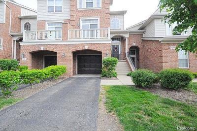 Livonia Condo/Townhouse For Sale: 37508 Newburgh Park Circle