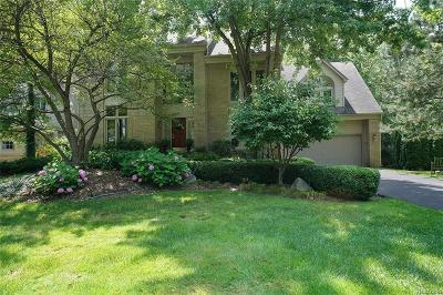 West Bloomfield Single Family Home For Sale: 6431 Mission Crt