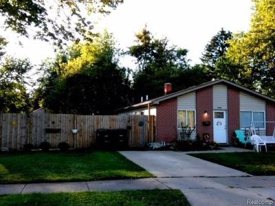 Taylor Single Family Home For Sale: 5948 Westlake St