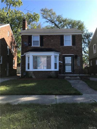 Detroit Single Family Home For Sale: 18612 Monica St
