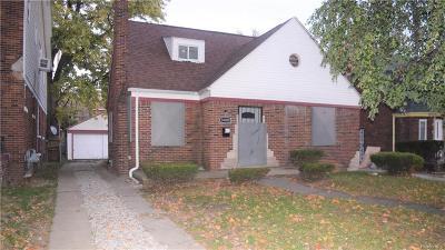 Detroit Single Family Home For Sale: 14000 Saint Marys St