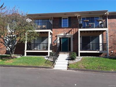 Sterling Heights Condo/Townhouse For Sale: 12010 Ina Dr N