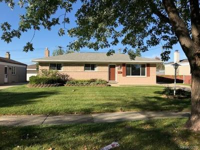 Sterling Heights Single Family Home For Sale: 14143 Valusek