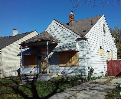 Detroit Single Family Home For Sale: 7374 Stahelin Ave