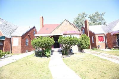 Detroit Single Family Home For Sale: 18466 Griggs St