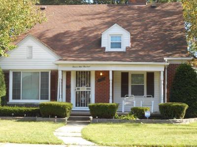 Detroit Single Family Home For Sale: 11900 Whitehill St