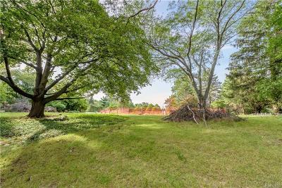 Bloomfield Hills Residential Lots & Land For Sale: 581 Bennington Dr
