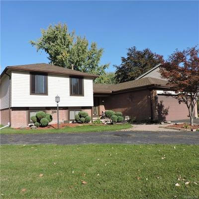 Clinton Township MI Single Family Home For Sale: $239,900