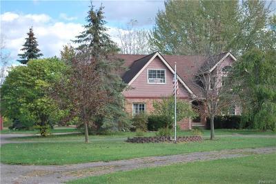 Belleville Single Family Home For Sale: 7055 Sheldon Rd