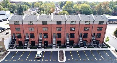 Royal Oak Condo/Townhouse For Sale: 638 W Eleven Mile Rd
