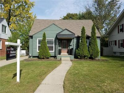 Birmingham Single Family Home For Sale: 850 W Lincoln St