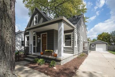 Berkley Single Family Home For Sale: 2428 Phillips Ave