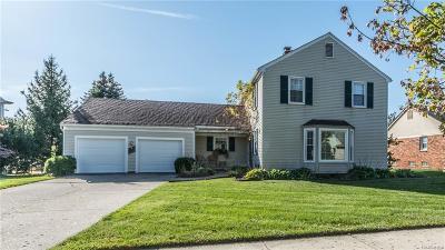 Plymouth Single Family Home For Sale: 46085 Barrington Rd