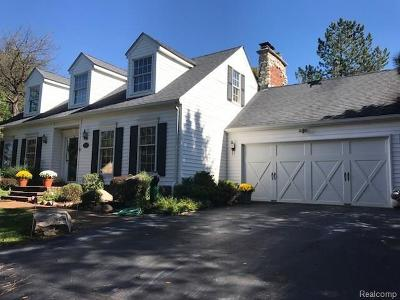 Lapeer Single Family Home For Sale: 4901 Barber Rd