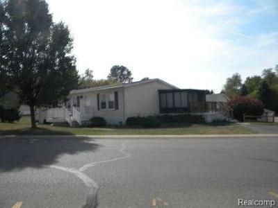 Clarkston Single Family Home For Sale: 2500 Mann Rd