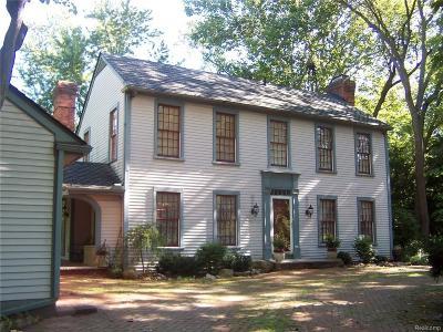 Northville Single Family Home For Sale: 46266 Pickford Street