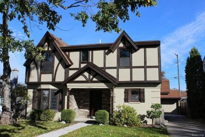 Saint Clair Shores Single Family Home For Sale: 23265 Doremus St