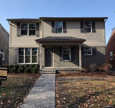 Huntington Woods Single Family Home For Sale: 26005 Allor Ave