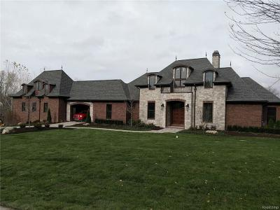 Northville Single Family Home For Sale: 7730 Hidden Ridge Ln