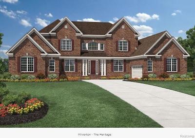 Northville Single Family Home For Sale: 18057 Shagbark Dr