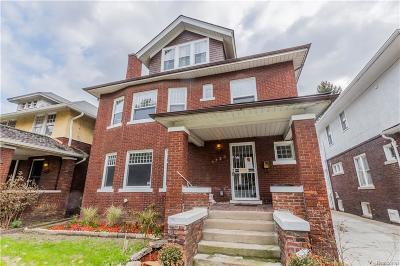 Detroit Single Family Home For Sale: 1723 Longfellow St
