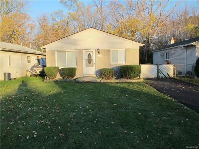 Southfield Single Family Home For Sale: 21072 Wakedon St