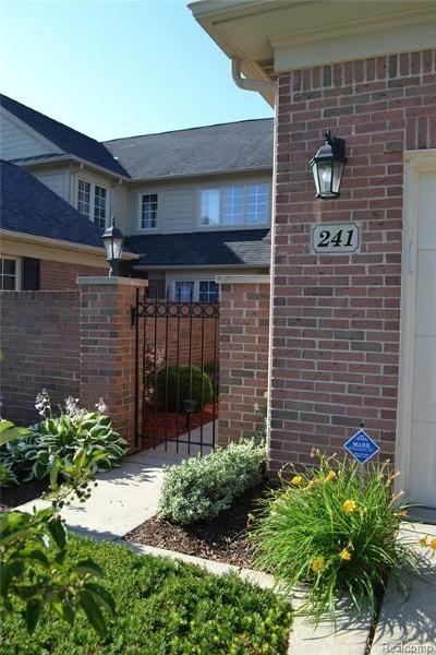 Troy Condo/Townhouse For Sale: 241 Harrington Dr