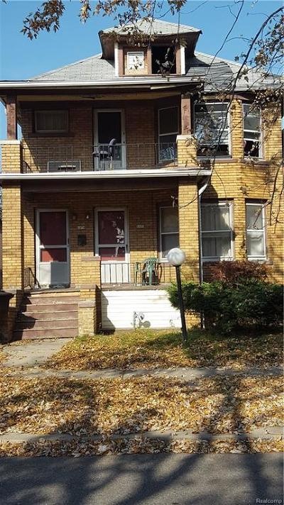 Detroit Multi Family Home For Sale: 1470 W Euclid St