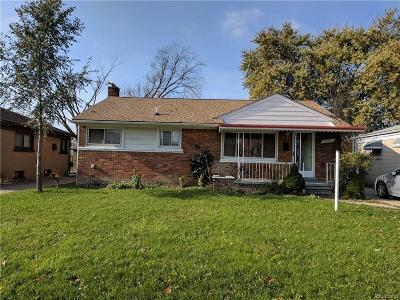 Westland Single Family Home For Sale: 5022 S Middlebelt Rd