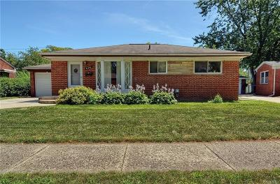 Clinton Township Single Family Home For Sale: 21140 Danbury St