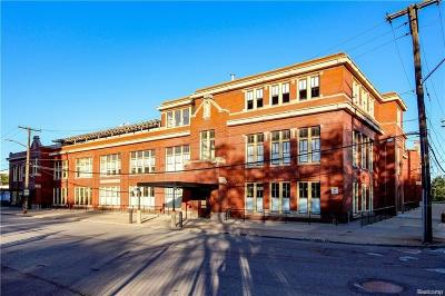 Detroit Condo/Townhouse For Sale: 1395 Antietam Ave