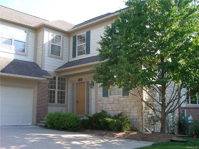 Rochester Hills Condo/Townhouse For Sale: 3772 Winding Brook Cir
