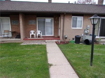 Sterling Heights MI Condo/Townhouse For Sale: $88,500