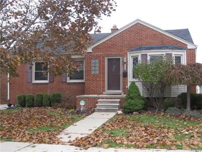 Allen Park Single Family Home For Sale: 15066 Belmont Ave