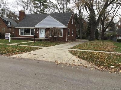 Livonia Single Family Home For Sale: 10004 Ingram St
