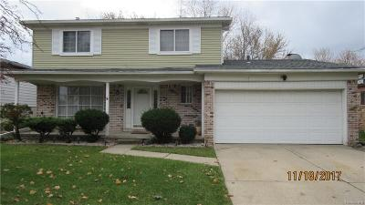Sterling Heights Single Family Home For Sale: 4048 Franklin Park Dr