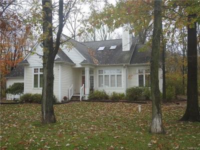 Lapeer Single Family Home For Sale: 2180 Mott Rd