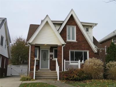 Dearborn Single Family Home For Sale: 7741 Freda St