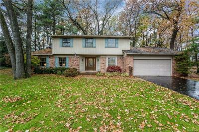 Lake Orion Single Family Home For Sale: 2818 Lunar Crt