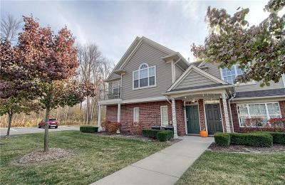 Shelby Twp Condo/Townhouse For Sale: 49242 W Woods Dr